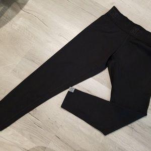 {PINK VS} LOGO waistband leggings Small